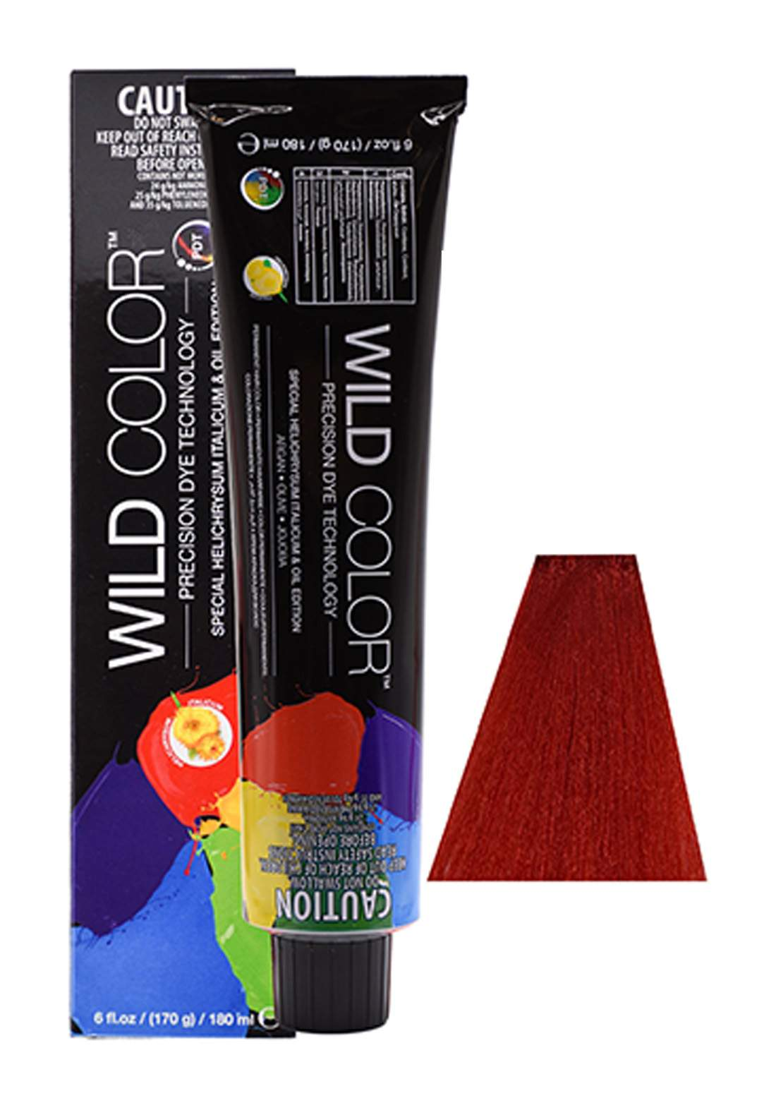 Wild Color Hair Color Cream 8.66 8RR - Intensive Red Light Blond صبغة شعر