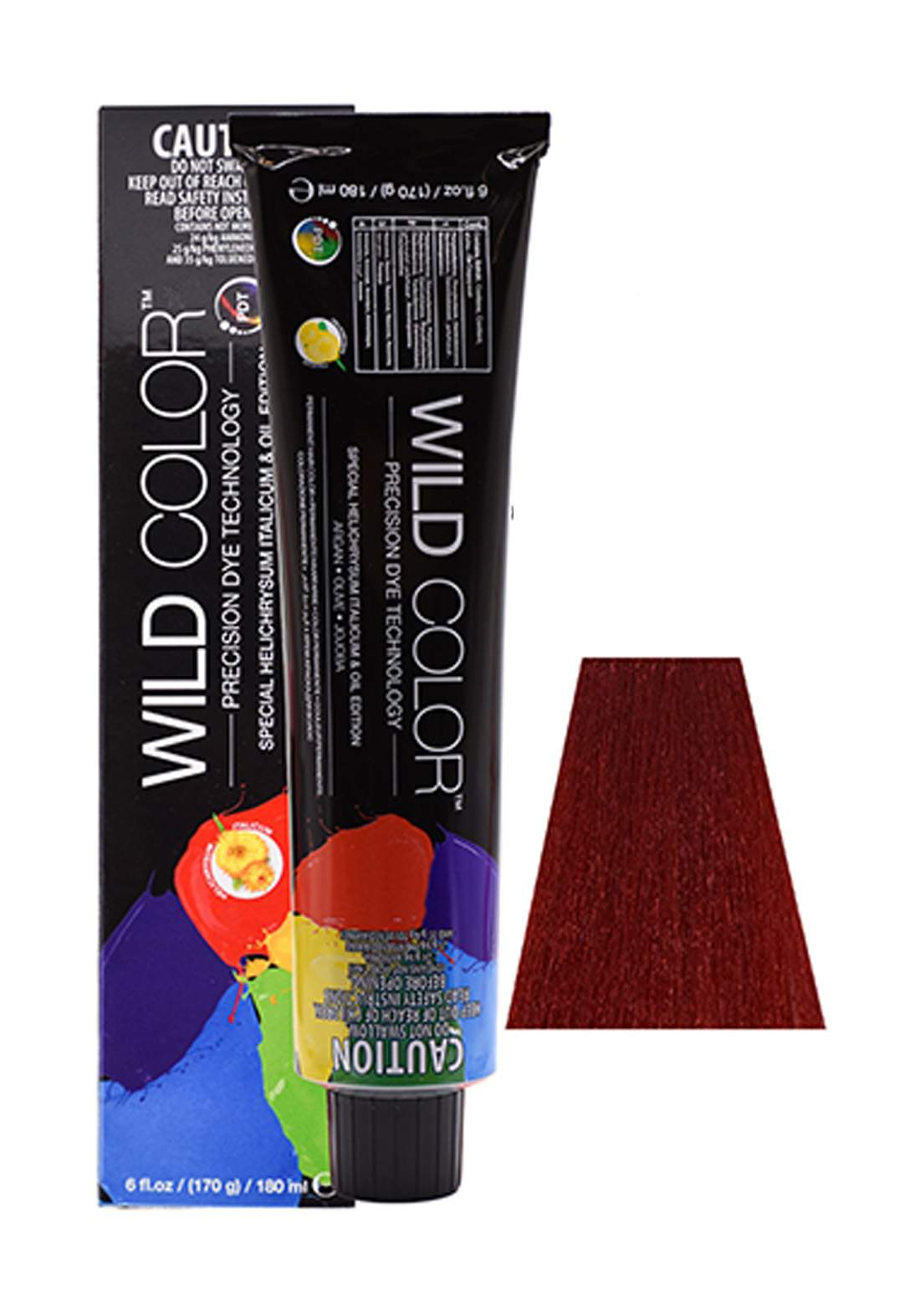 Wild Color Hair Color Cream 7.66 7RR - Intensive Red Blond صبغة شعر