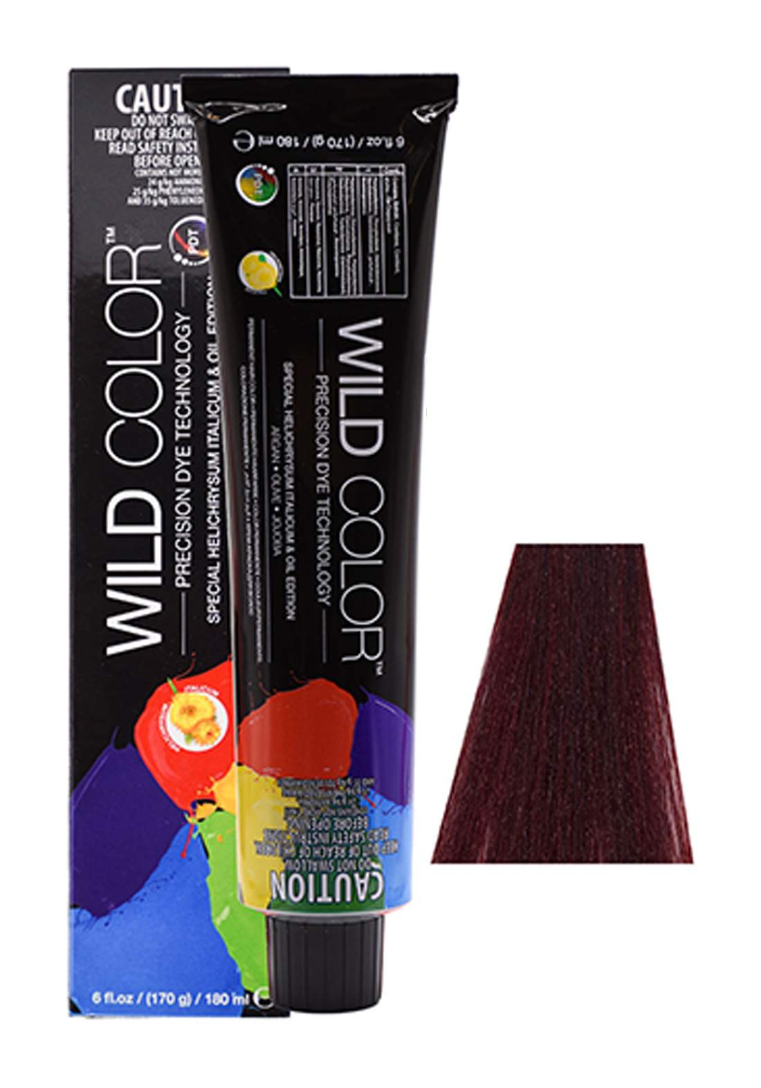 Wild Color Hair Color Cream 5.66 5RR - IIntensive Red Light Brown  صبغة شعر