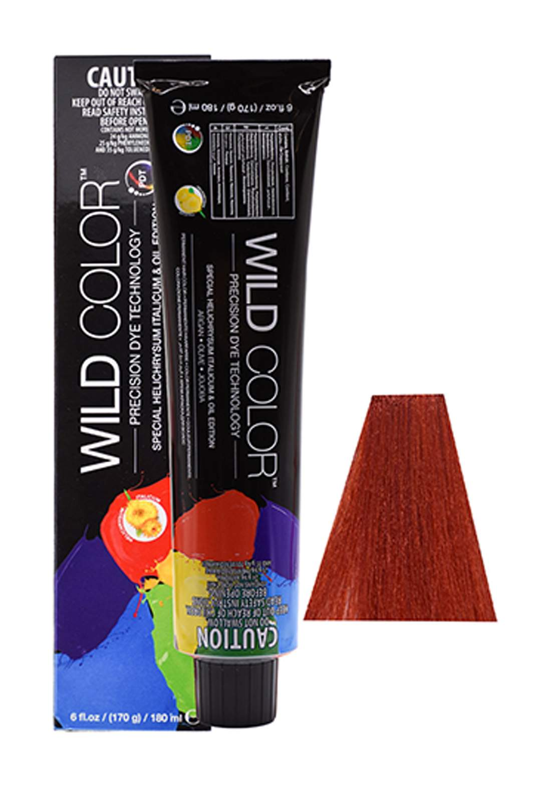 Wild Color Hair Color Cream 8.6 8R - Light Red Blond صبغة شعر