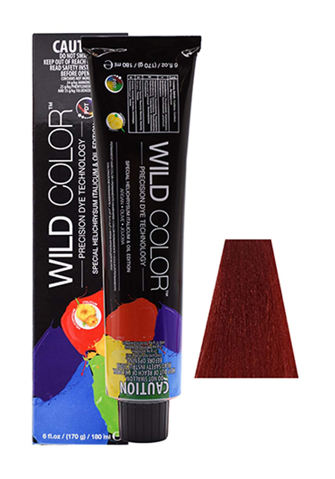 Wild Color Hair Color Cream 7.6 7R - Red Blond صبغة شعر