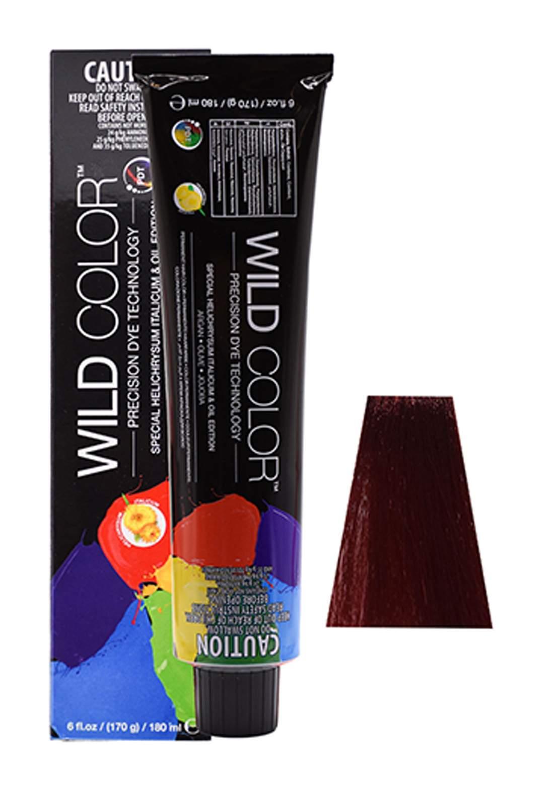 Wild Color Hair Color Cream 6.6  6R -Dark  Red Blond صبغة شعر