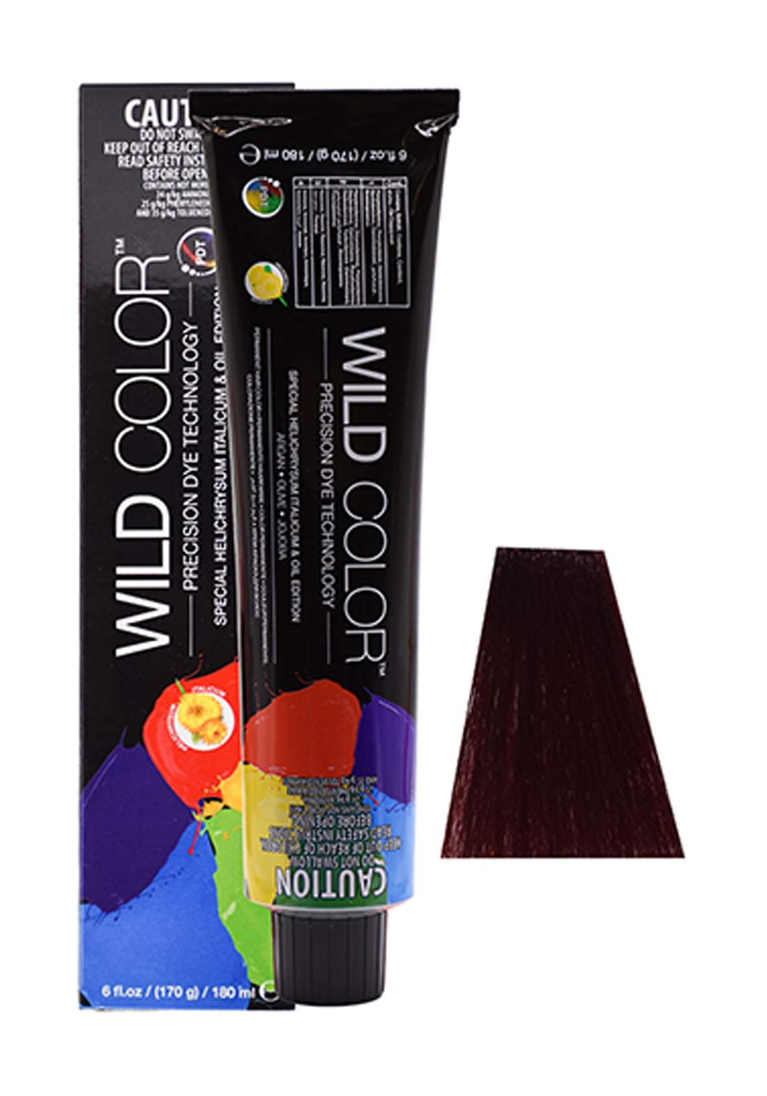 Wild Color Hair Color Cream 5.6  5R -Dark  Light Red Brown  صبغة شعر