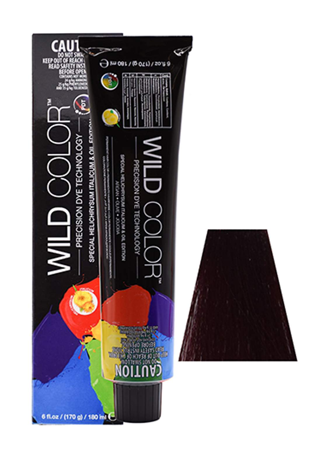 Wild Color Hair Color Cream 4.6  4R - Red Brown  صبغة شعر