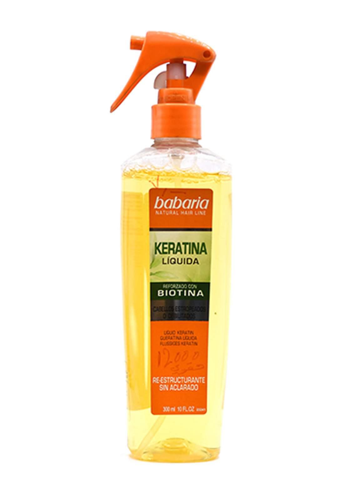 Babaria Natural Hair Line Liquid 300 ml معالج للشعر