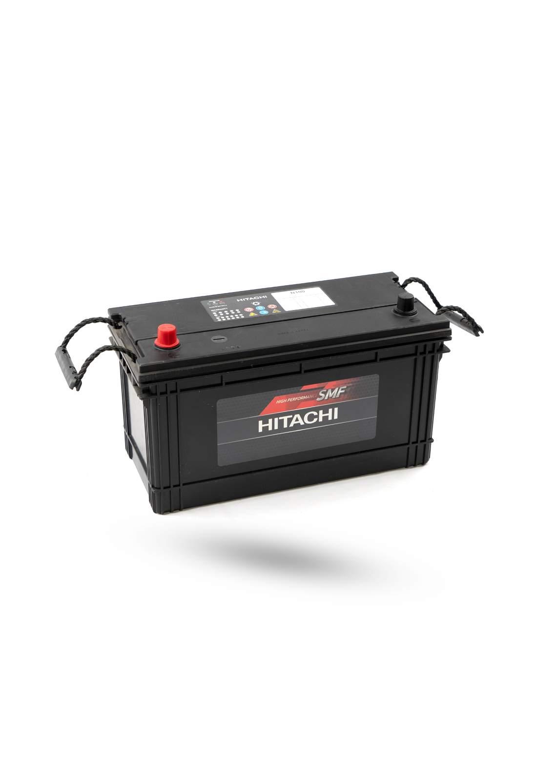 HITACHI MF N100 Car Battery 12V 100A بطارية سيارة 100 امبير