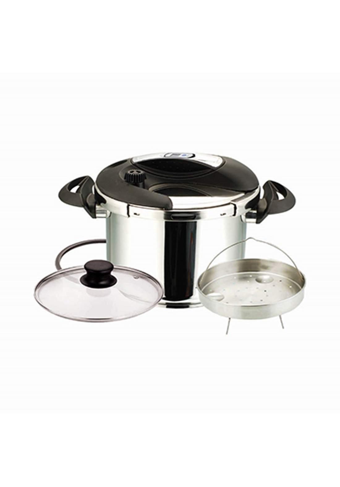 Delmonti DL1030B Pressure cooker 8L قدر ضغط