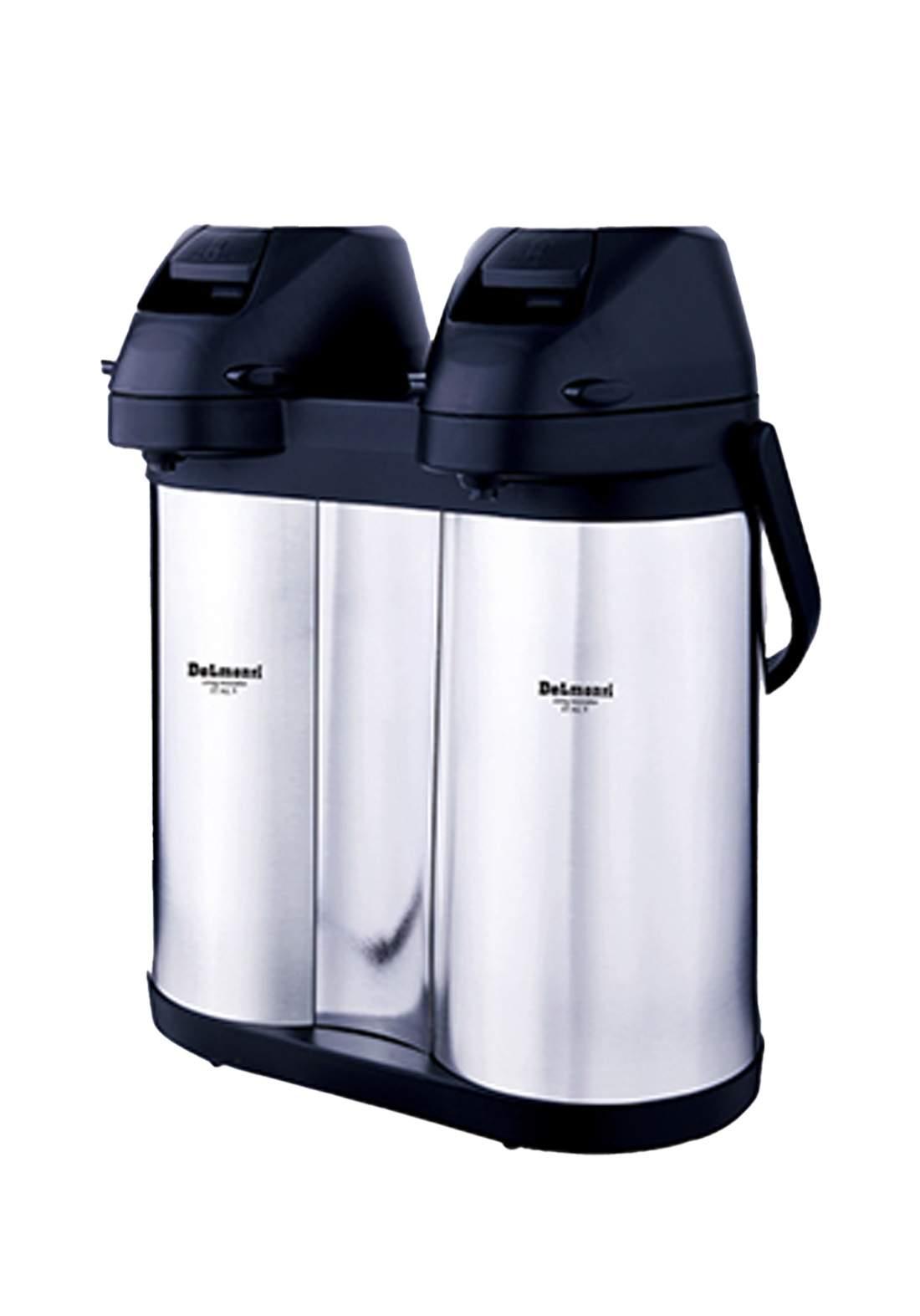 Delmonti   DL 1670 Stainless steel twin air pot  4 L ترمز حراري