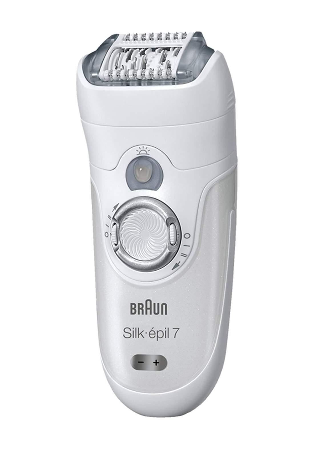 Braun SE7-561 - Epilator - White ماكنة حلاقة نسائية