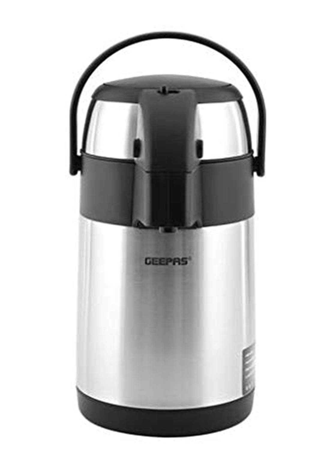 Geepas GVF5262 S/S Airpot Double Wall Flask 2.5L ترمز