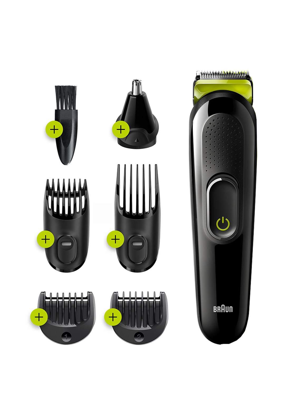 Braun MGK3221 All-in-one trimmer  6-in-1 trimme 5 attachments ماكنة حلاقة رجالية