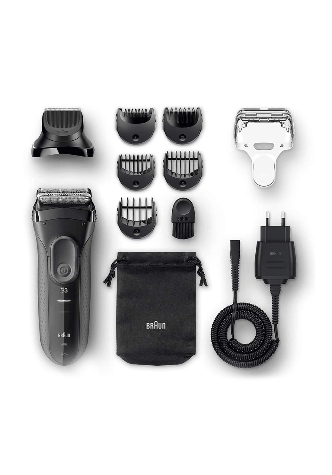 Braun 3000BT S3 Shave & Style  ماكنة حلاقة رجالية