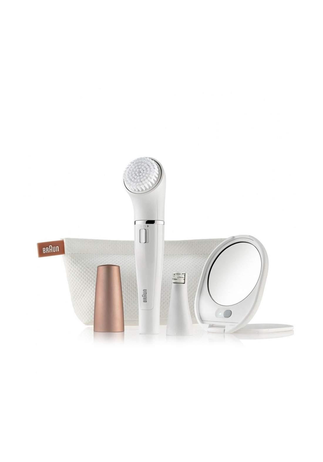 Braun 831 Beauty 831 facial cleansing brush and facial epilator  فرشاة تنظيف الوجه  وآلة إزالة الشعر
