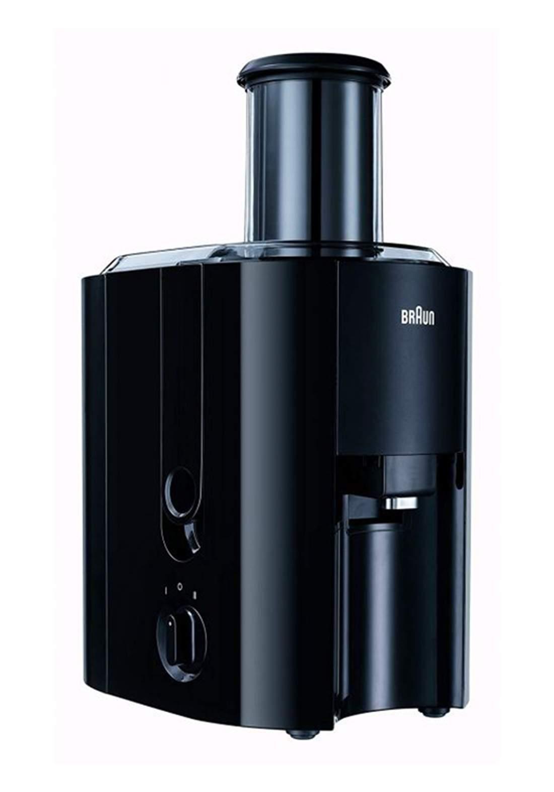 Braun J300  Multiquick Spin Whole Fruit  Juicer -Black  عصارة كهربائية