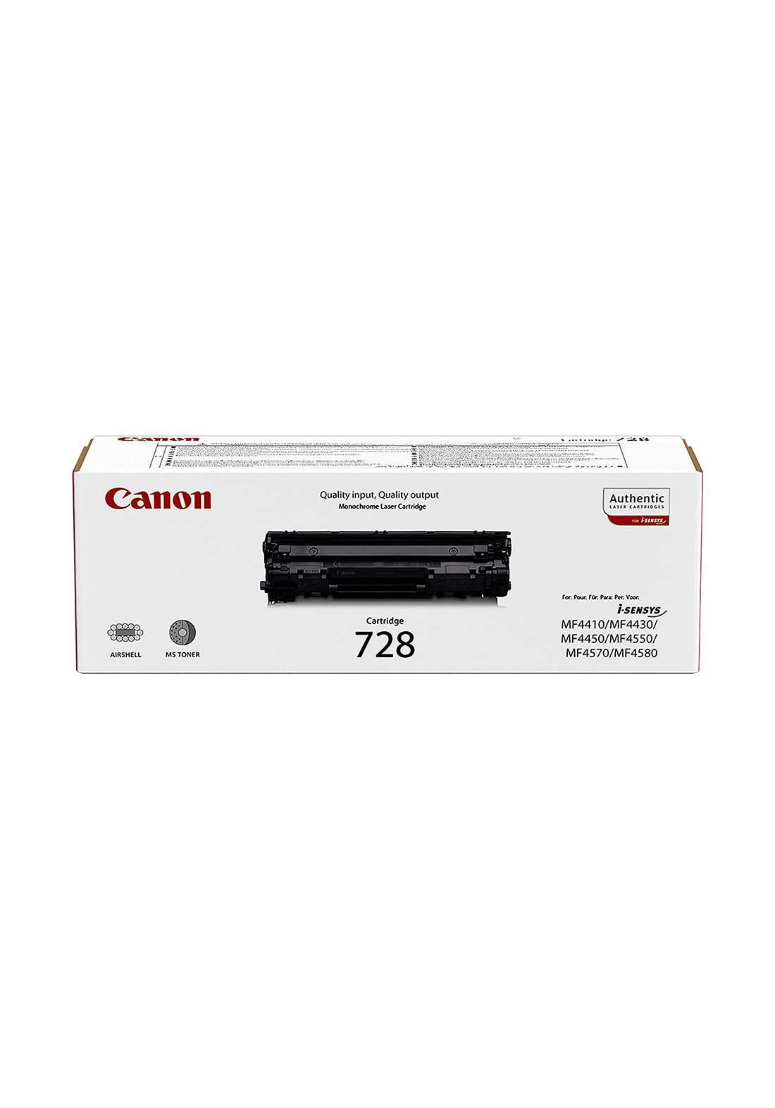 Canon Toner CRG-728- Black خرطوشة حبر