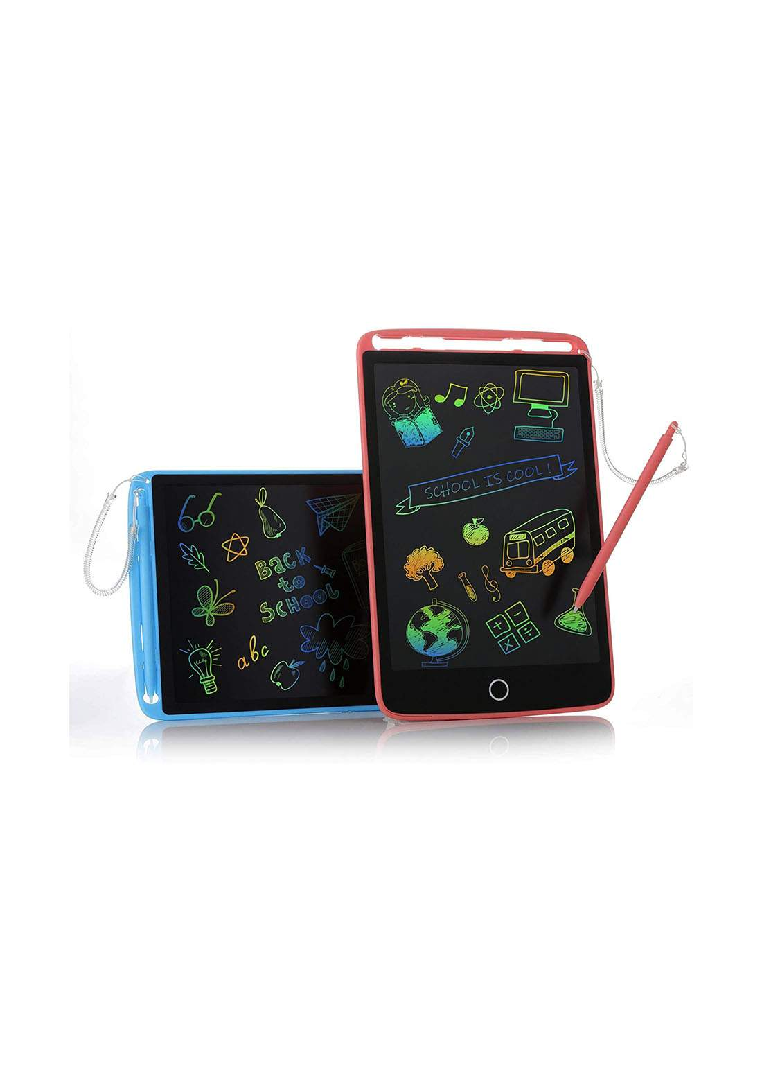 Kidwill Educational Toy Tablet LCD Writing Colorful Screen Board 8.5inch سبورة ذكية