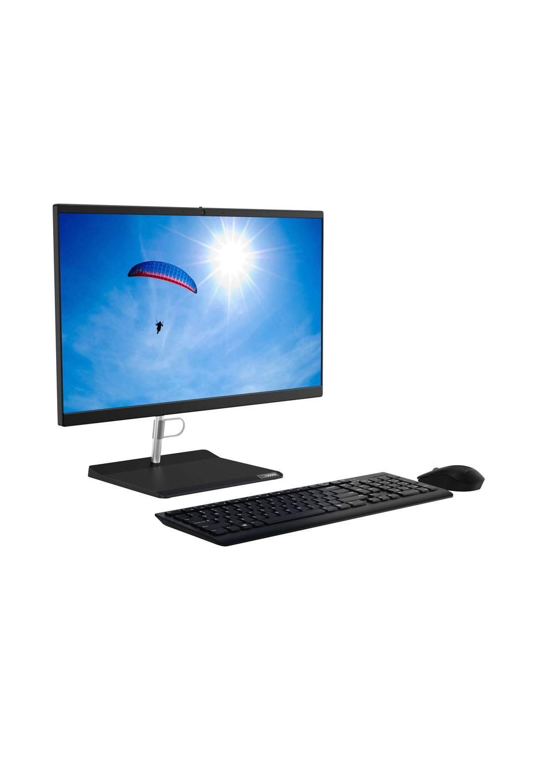 Lenovo AIO V30a - Core i5 -  4GB RAM - 1TB HDD - 21.5″ -  DOS - Black