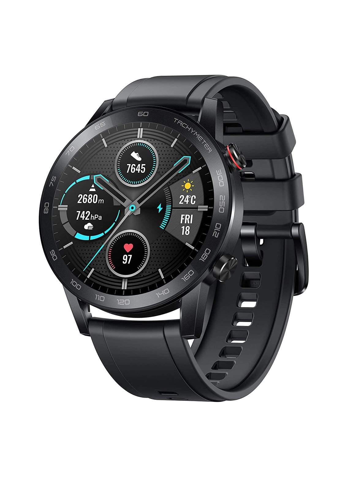 Honor MagicWatch 2 46mm Smart Watch - Charcoal Black ساعة ذكية