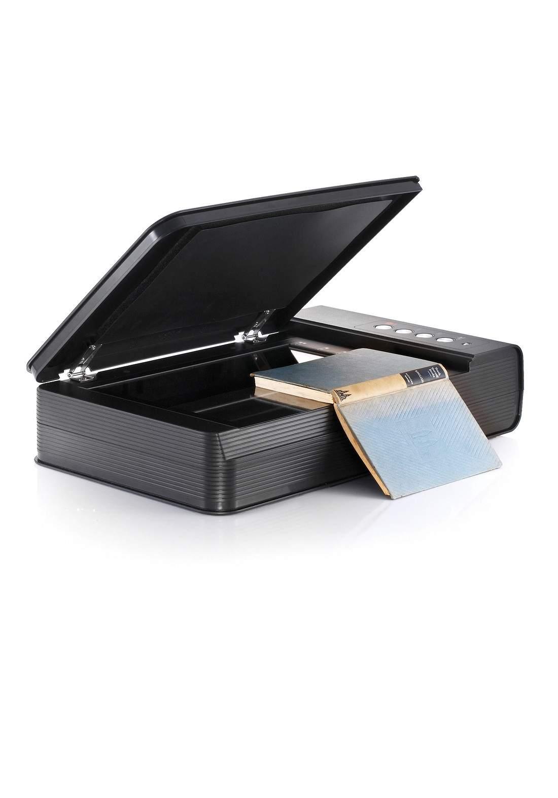 Plustek OpticBook 4800 Book Scanner - Black طابعة