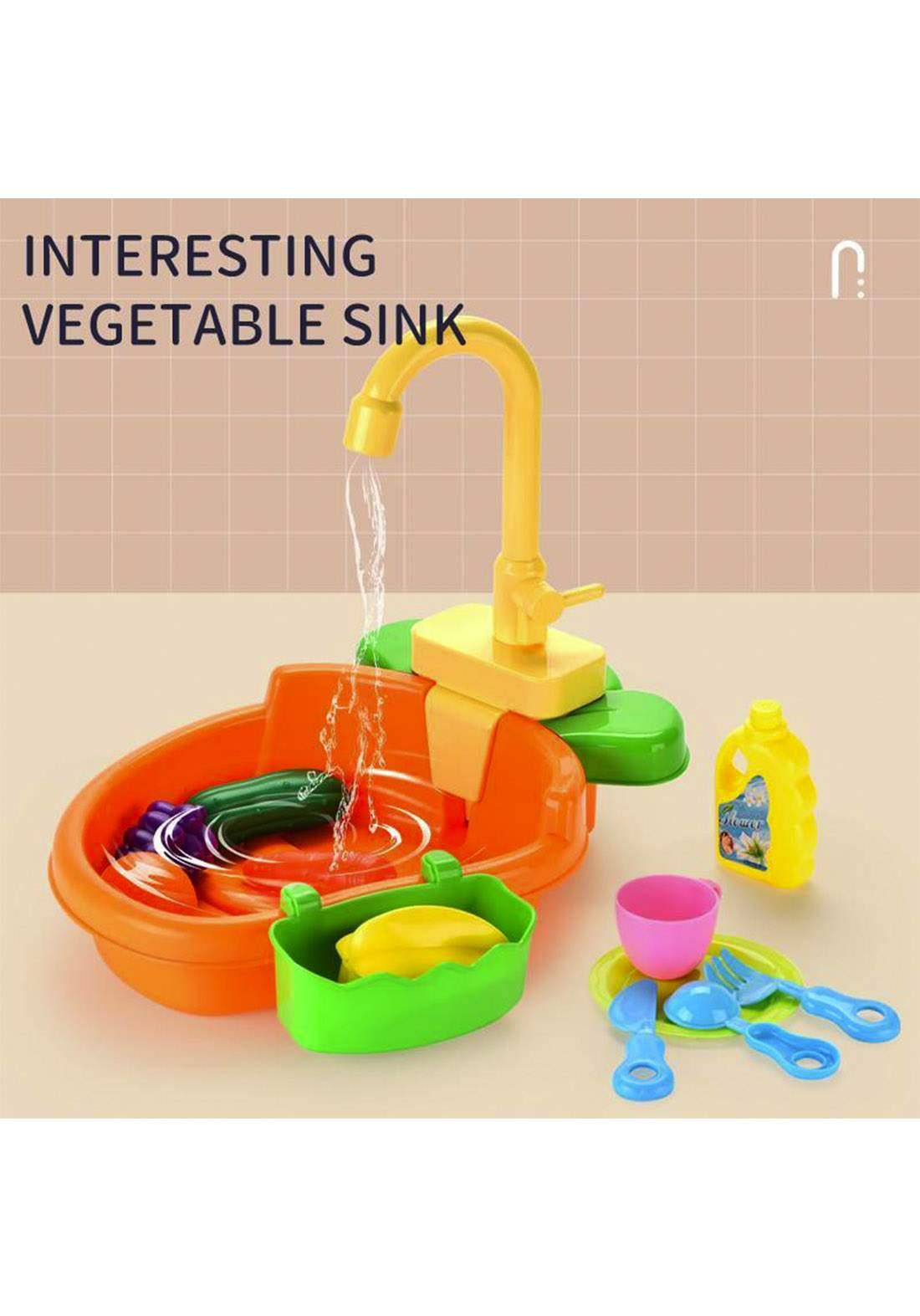 Kids Kitchen Sink Toys  ألعاب حوض المطبخ للأطفال