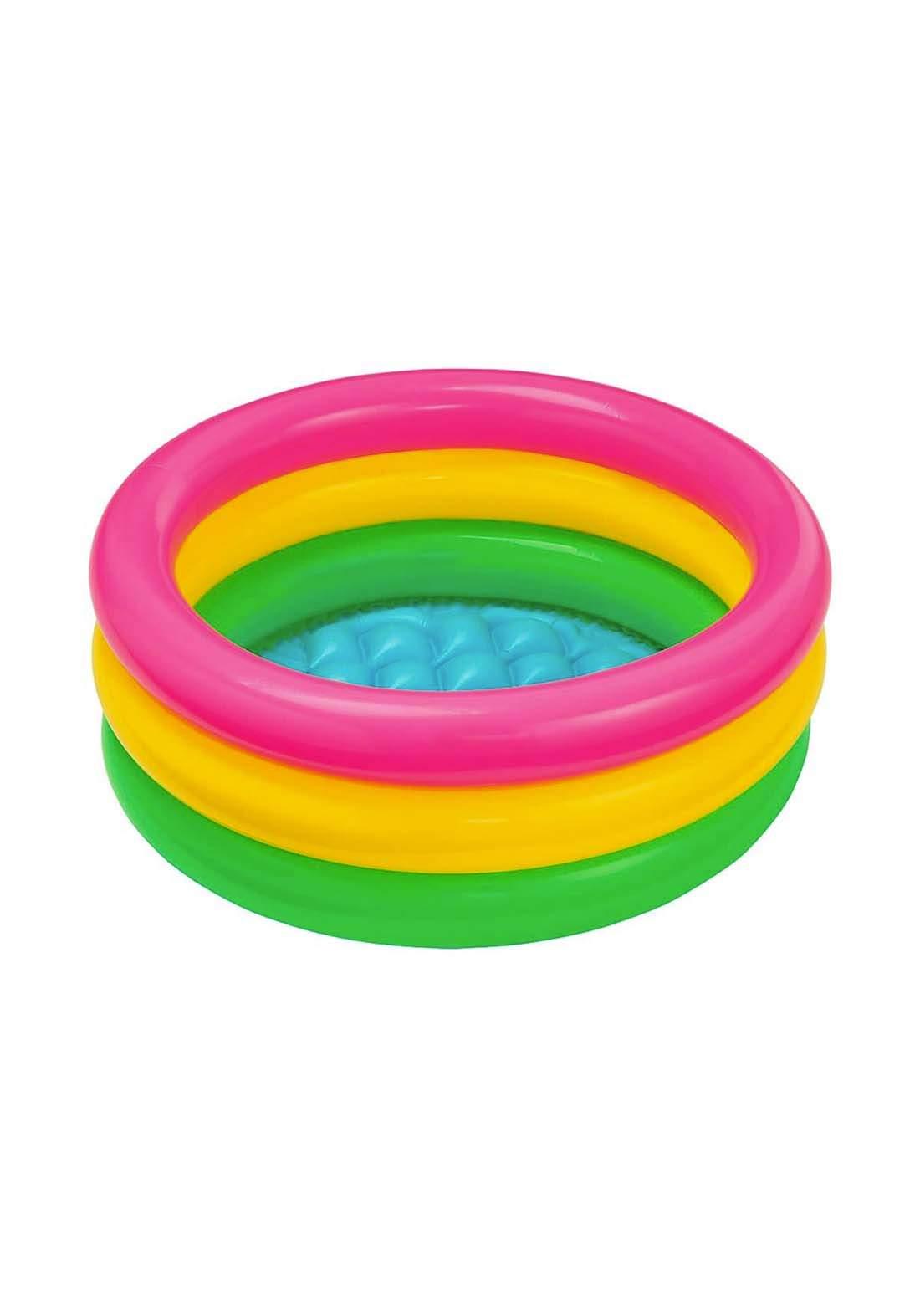 Intex 57107NP 3 rings Inflatable pool مسبح