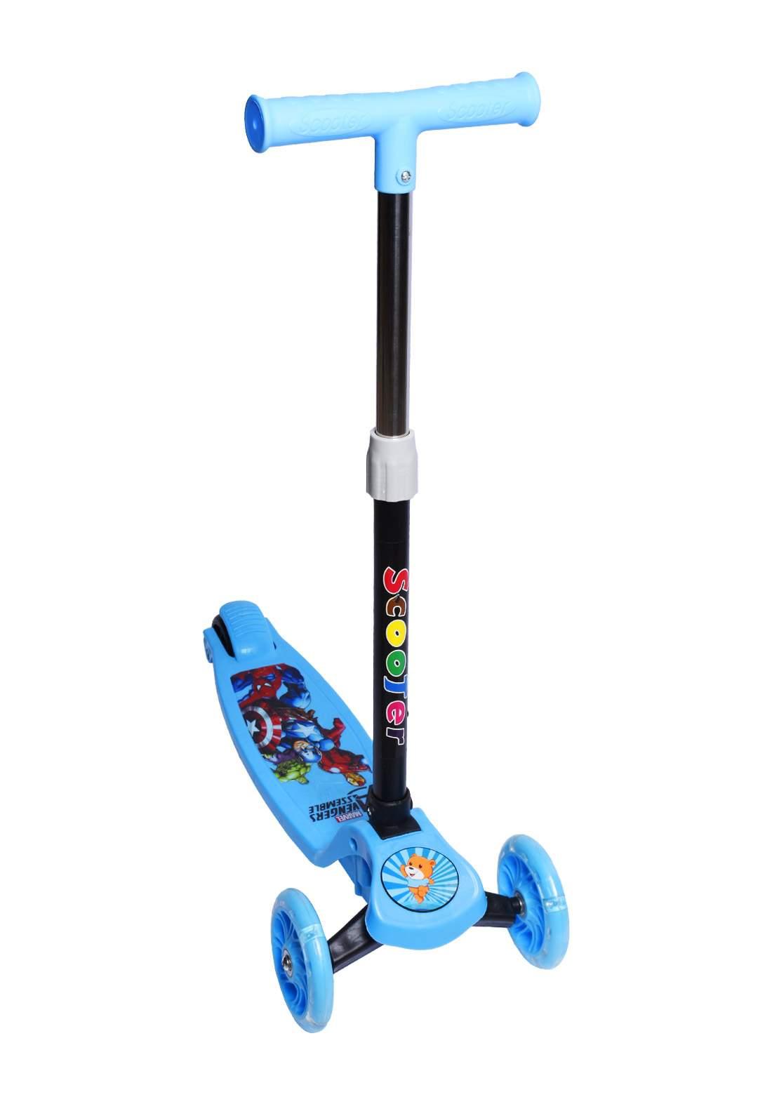 Scooter for kids with 3 wheels سكوتر للاطفال