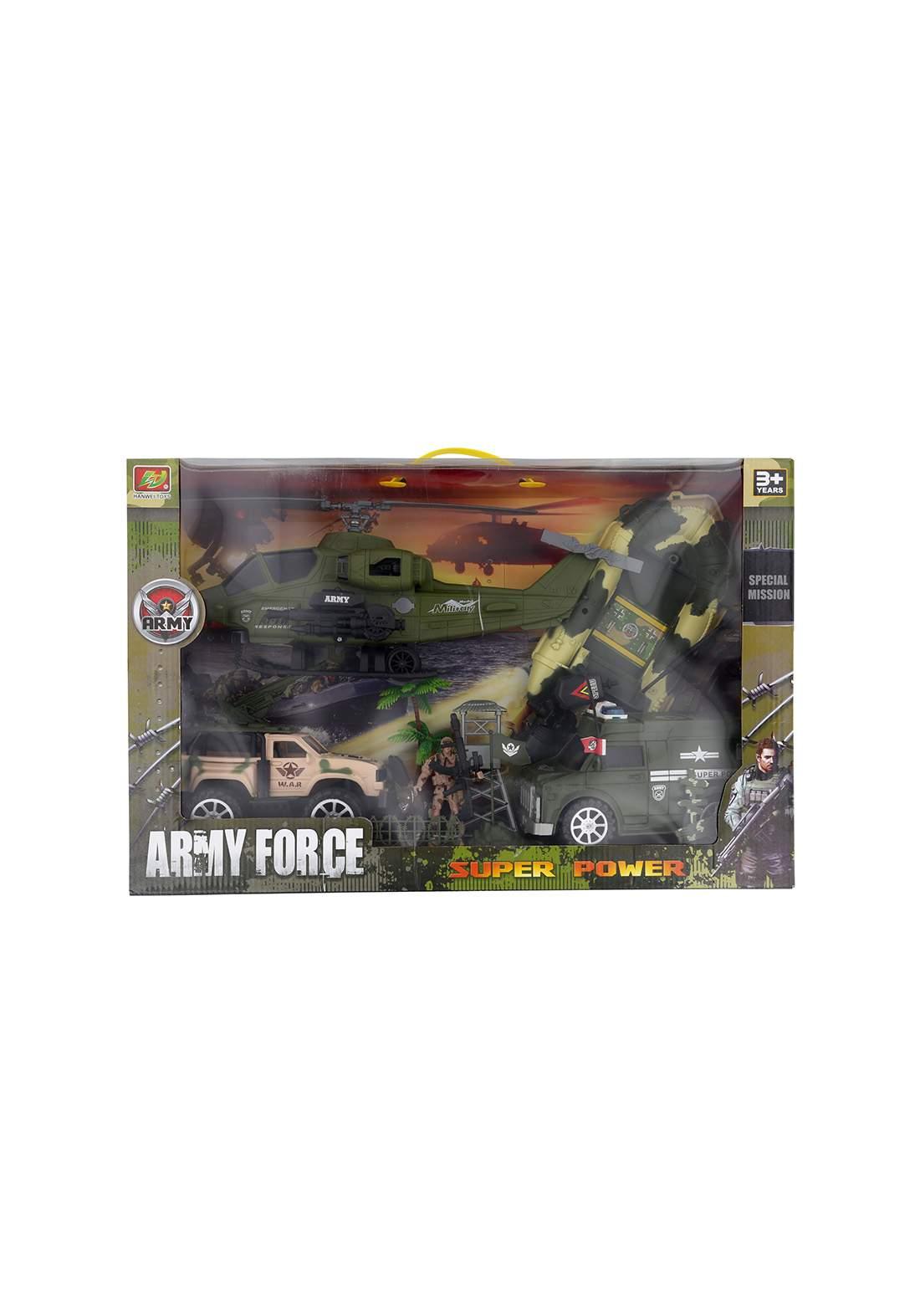 Military Vehicles Toys set سيت  لعبة المركبات العسكرية