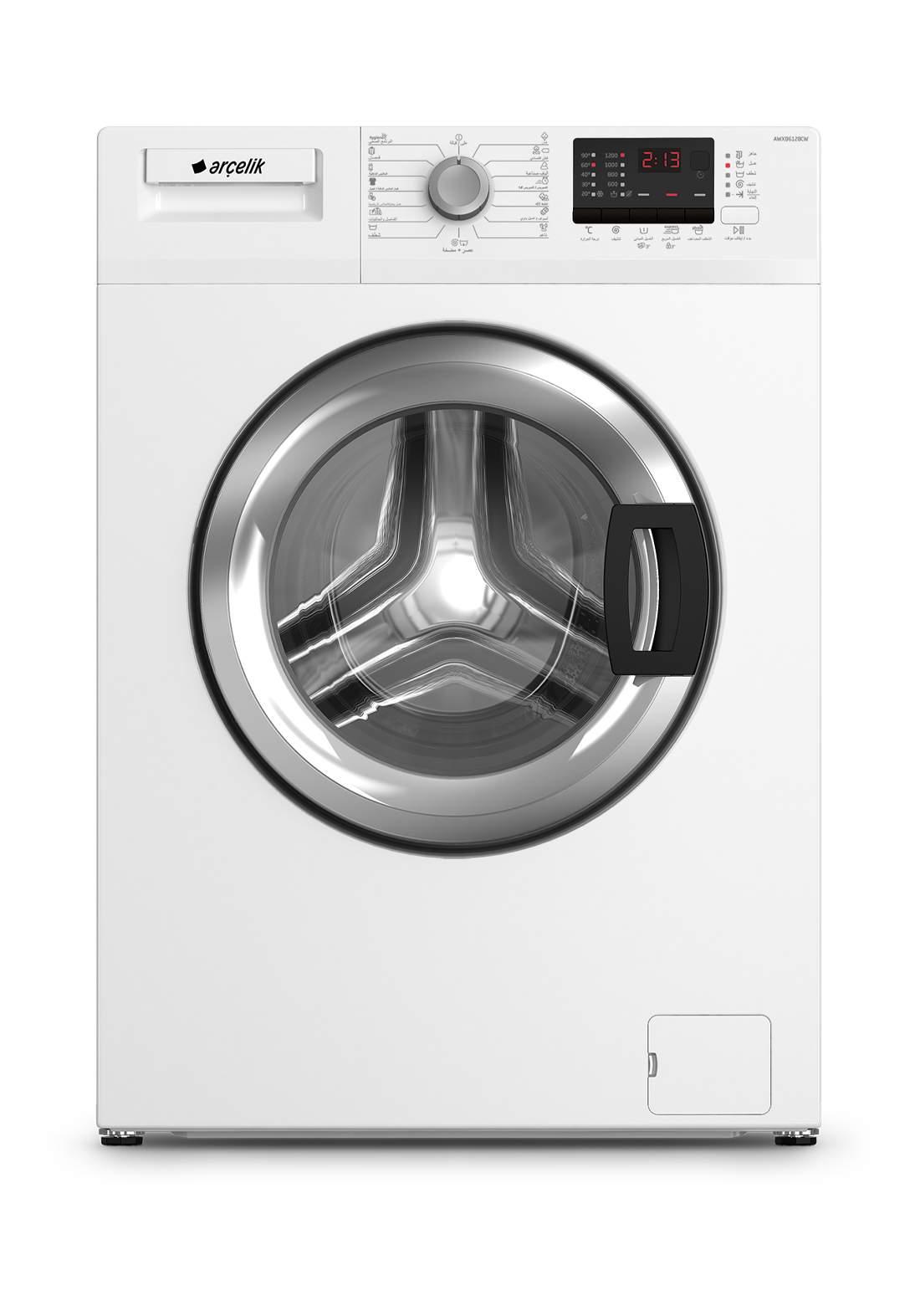 Arcelik AL 8100 D ALTUS Washing machine 8 kg gray غسالة 8 كيلو