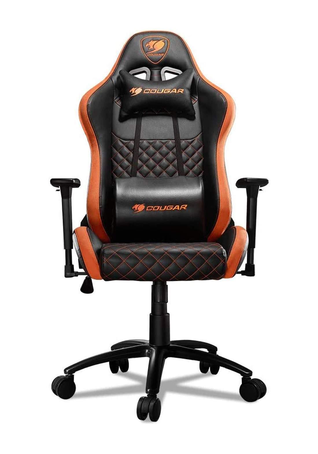 Cougar Armor Pro Gaming Chair - Black and Orange  كرسي العاب