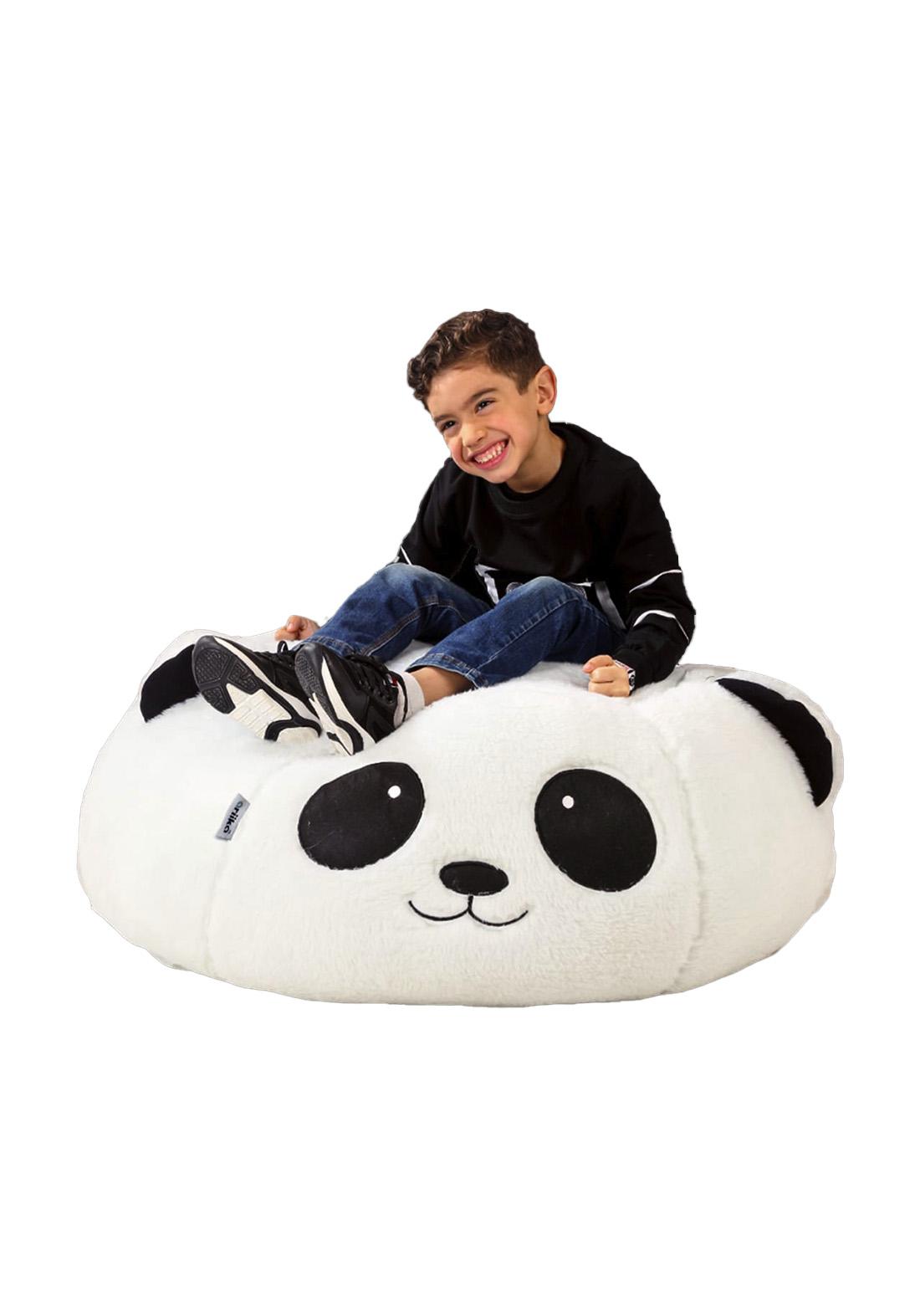 اريكة للاطفال بالفرو بشكل باندا من ماركة اريكة