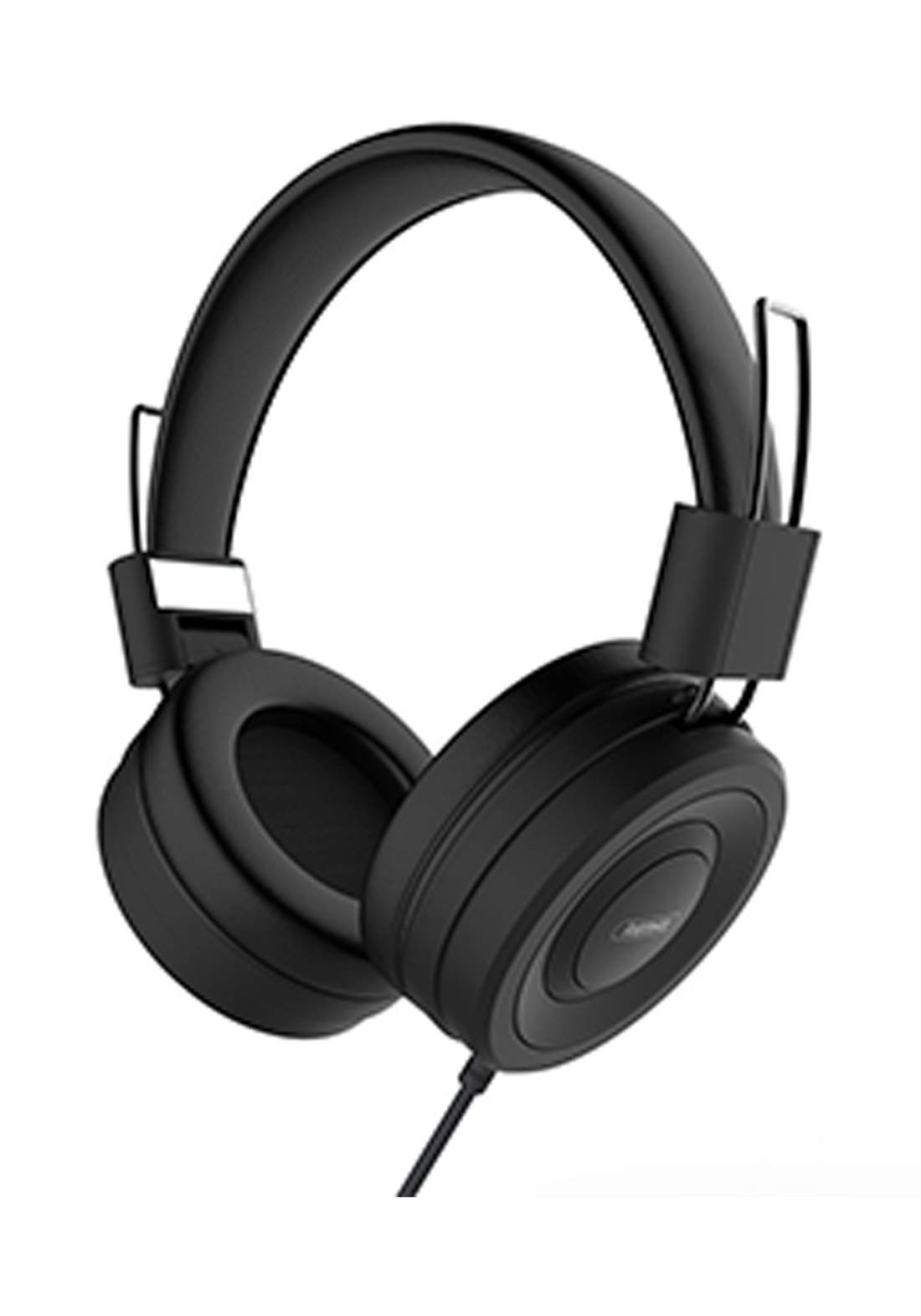 Remax Original RM-805 Wired Headset Music Over-ear Headphone with Microphone - Black  سماعة الرأس