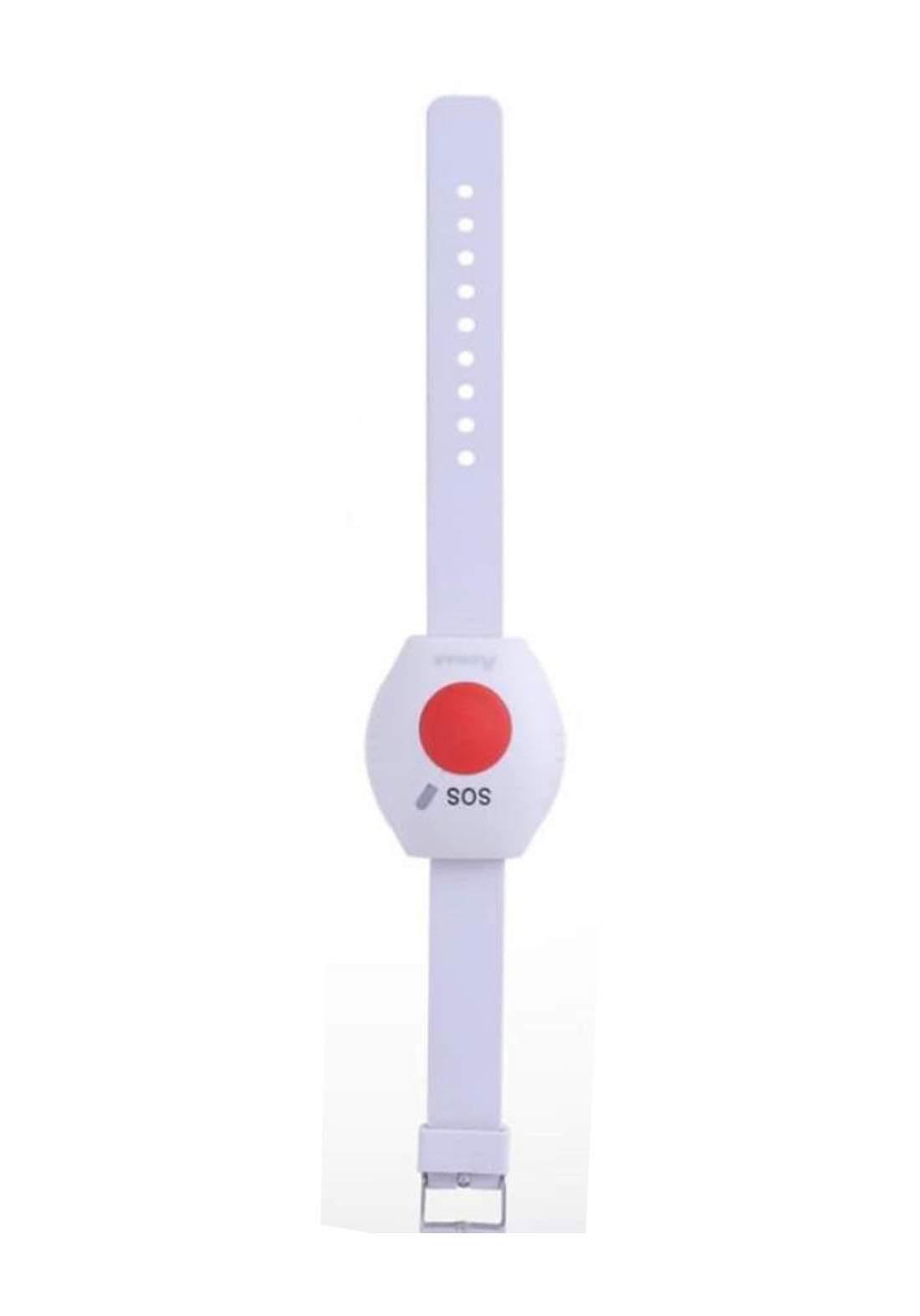 Aswar AS-HSS2-WSOS Emergency alarm Watch - White ساعة تنبيه طوارئ