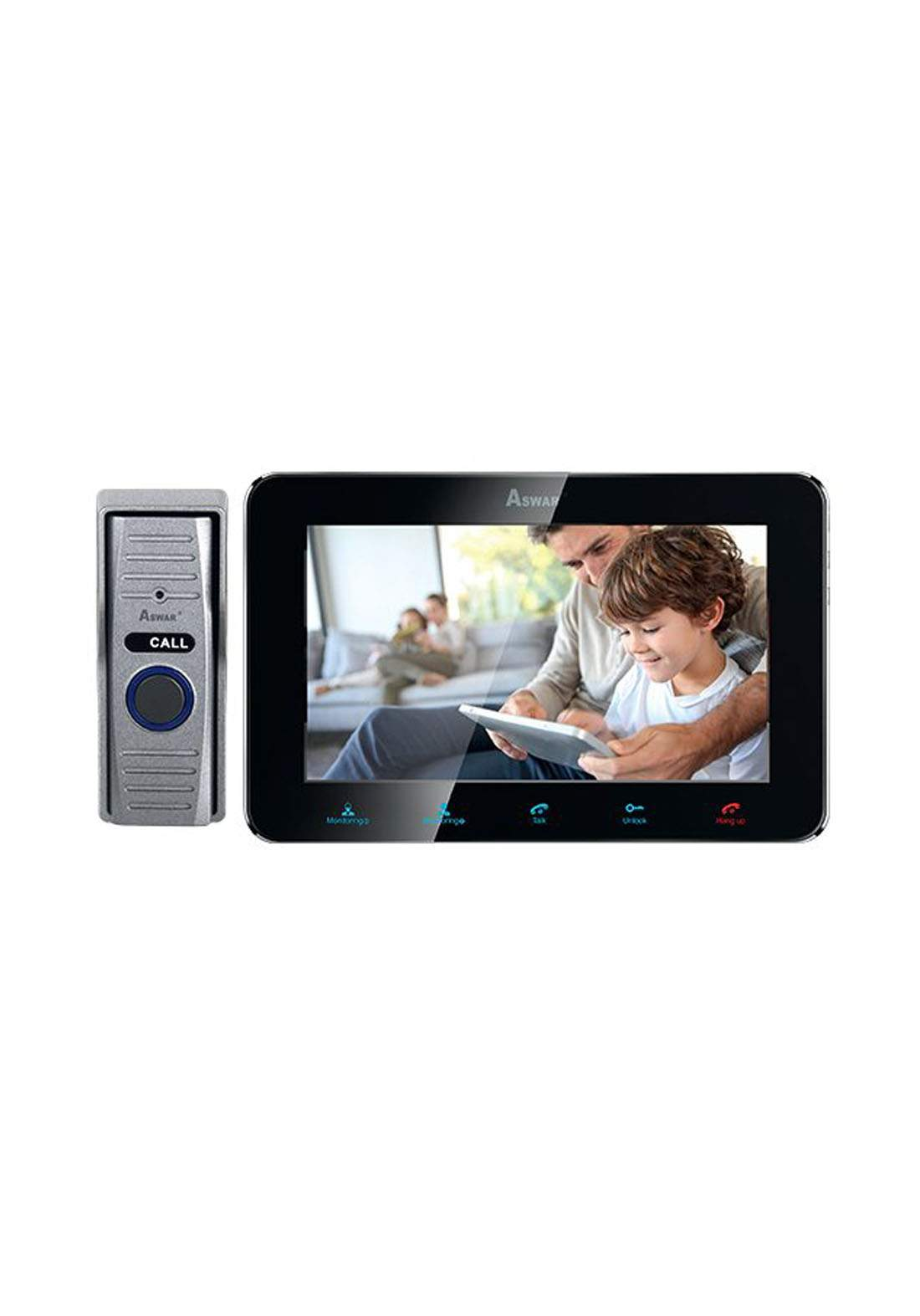 Aswar AS-VDP-7TR Video Door Phone كاميرا مراقبة