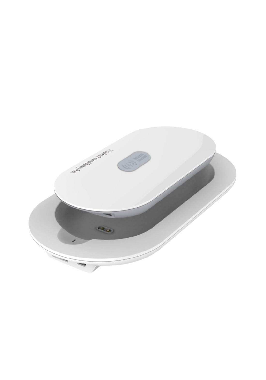 Ldnio PW501 Wireless Power Bank with Charging Base - White شاحن محمول