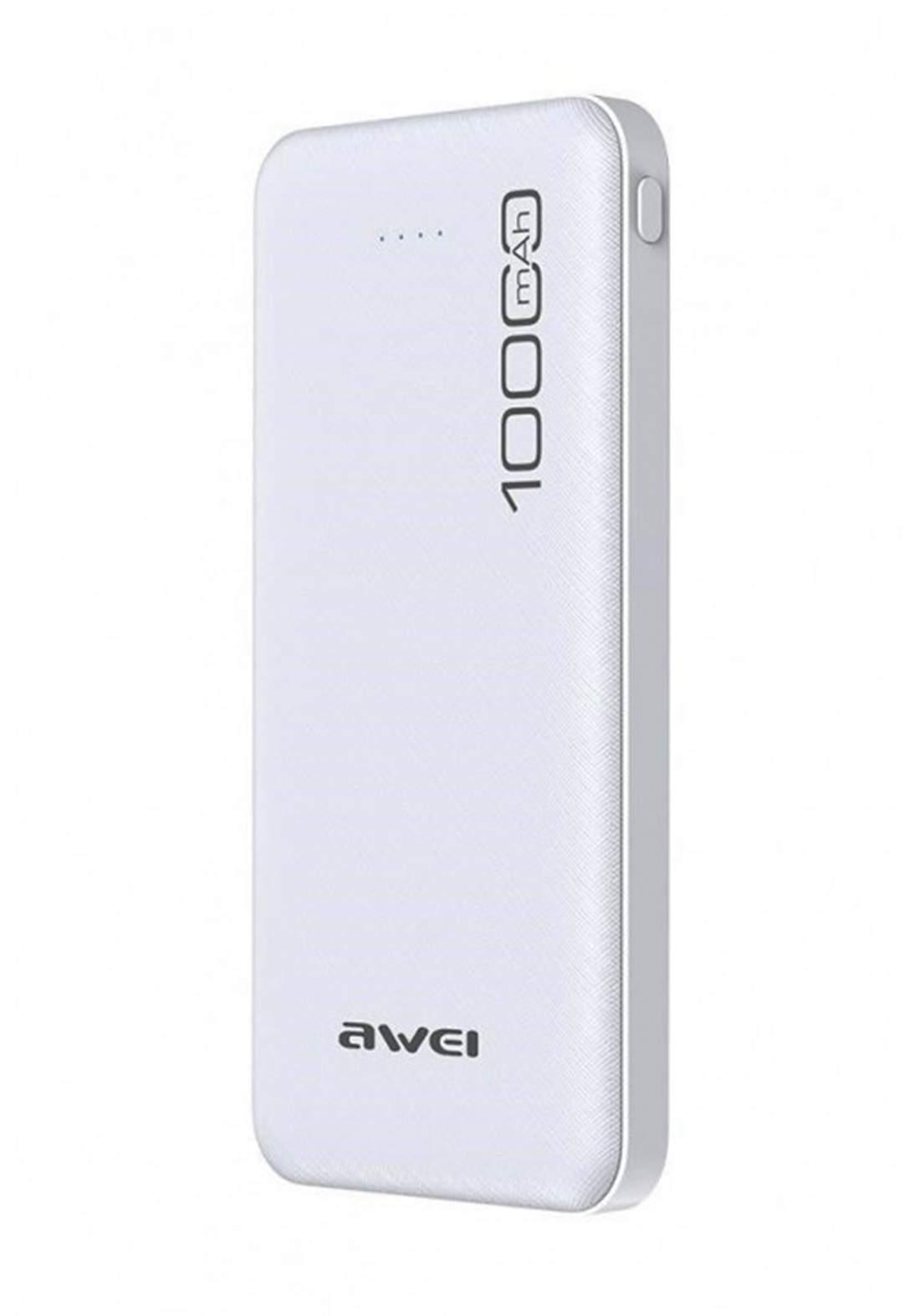 Awei P28K 10000mAh Power Bank - White شاحن محمول