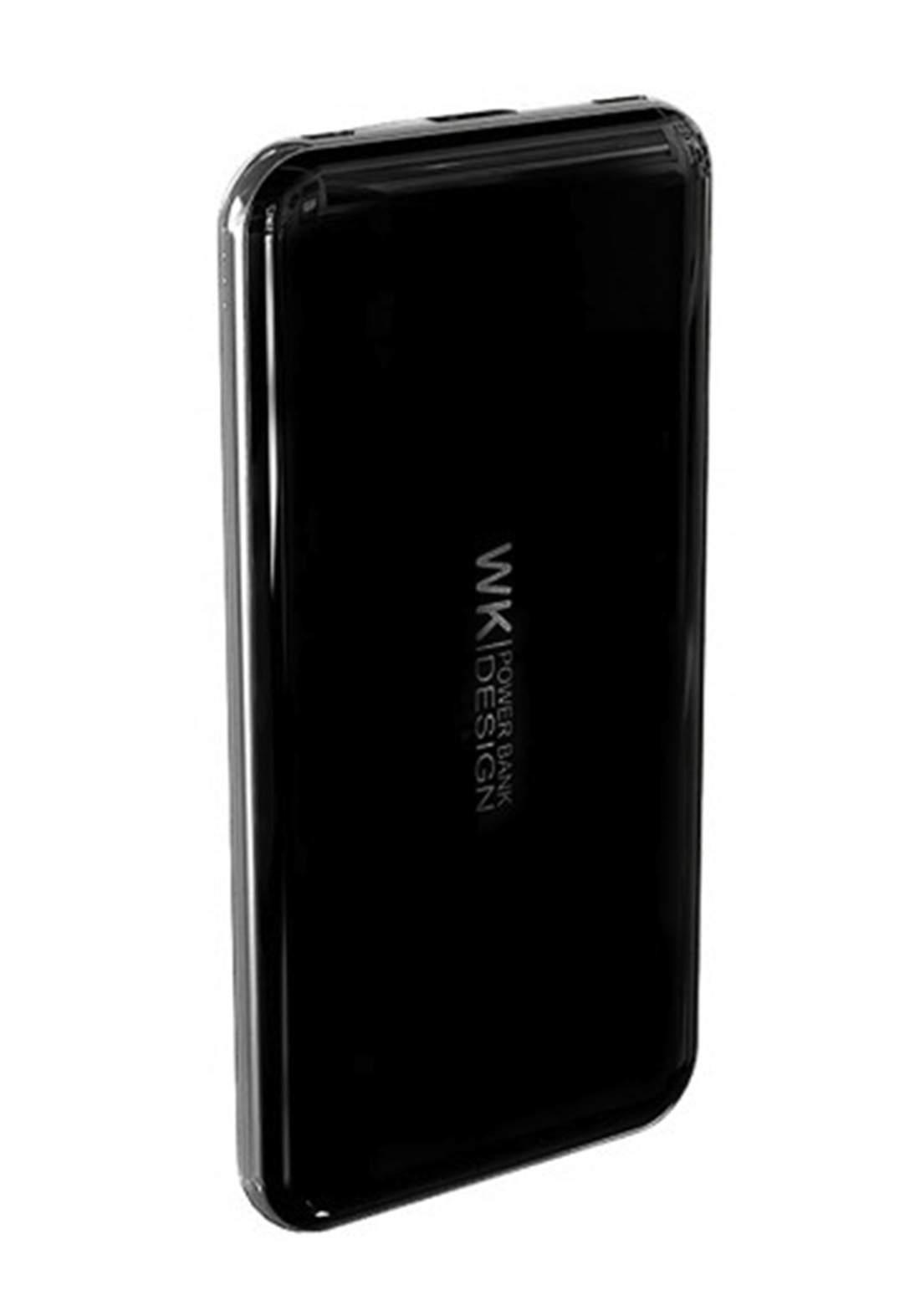 WK WP-081 10000 mAh Slim Power Bank - Black شاحن محمول