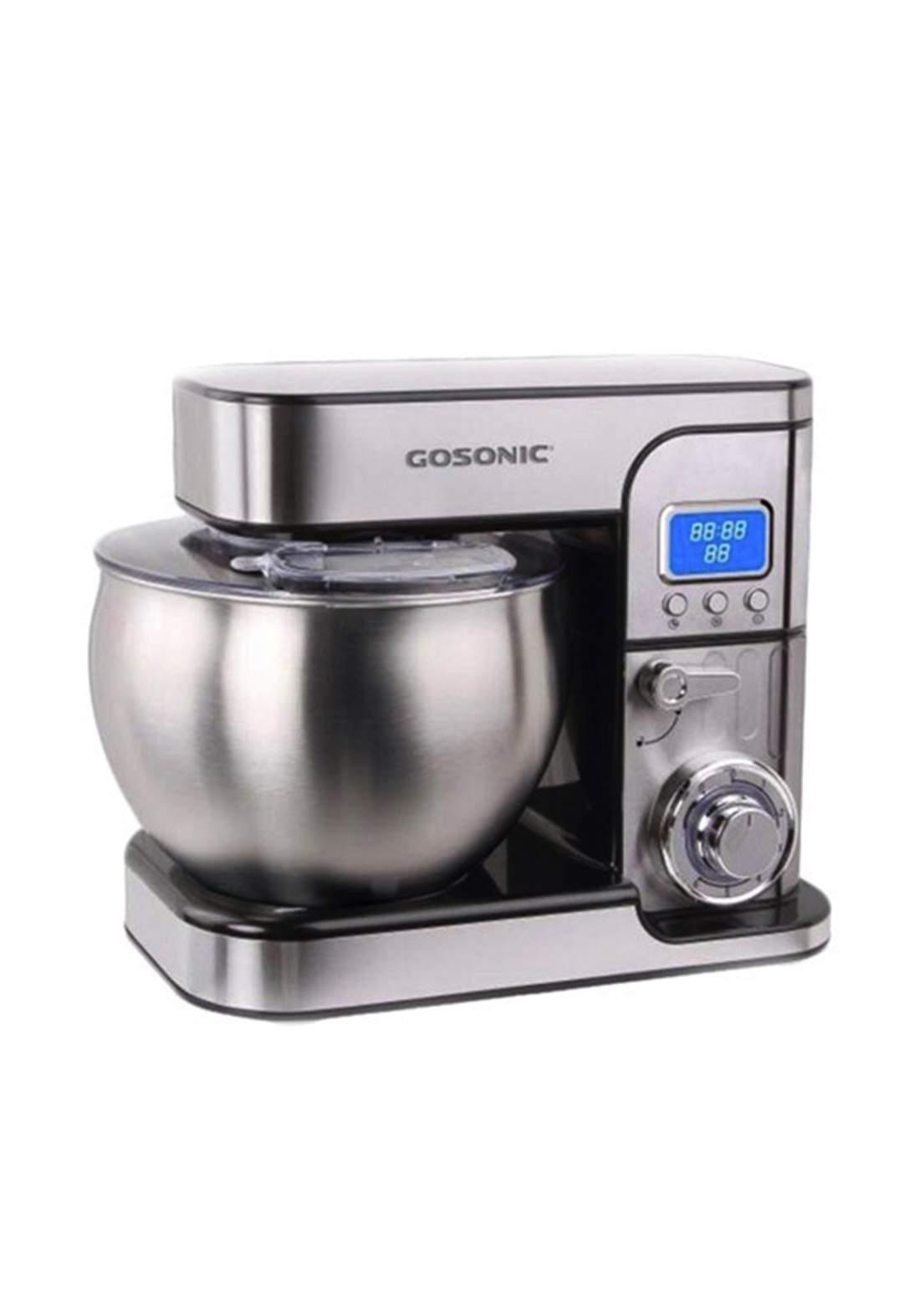 Gosonic 607 Stand Mixer - Silver عجانة كهربائية