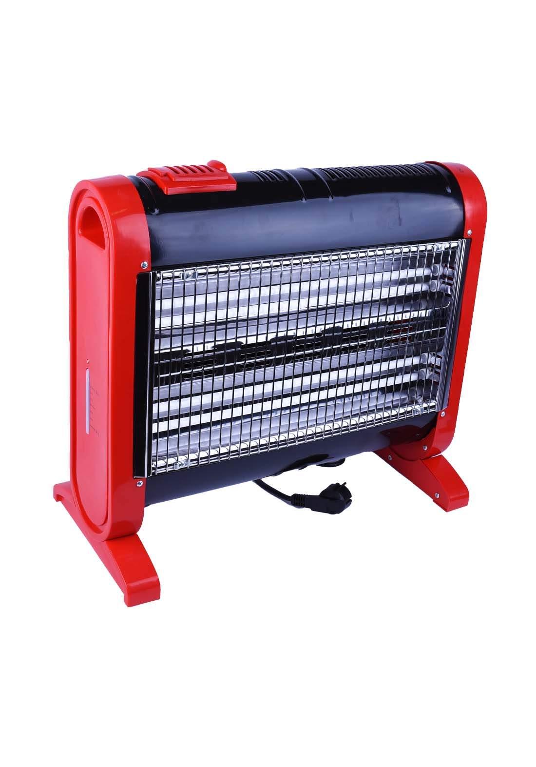 احمر اللون General Group G-Q1255 مدفئة كهربائية من