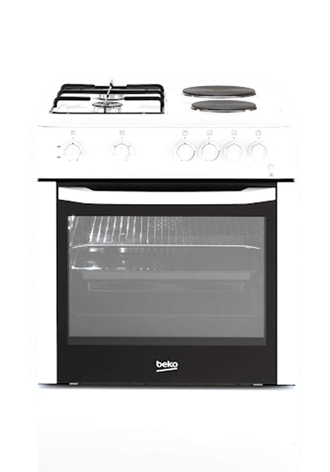 Beko (CSE 64010DW) 4 Kitchen Stove - White طباخ
