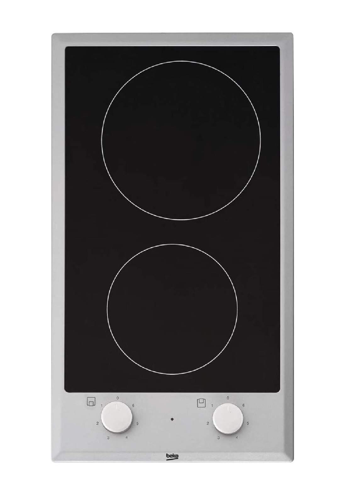 Beko HDCC 32200 X 30 cm Hob Glass Ceramic - Black طباخ