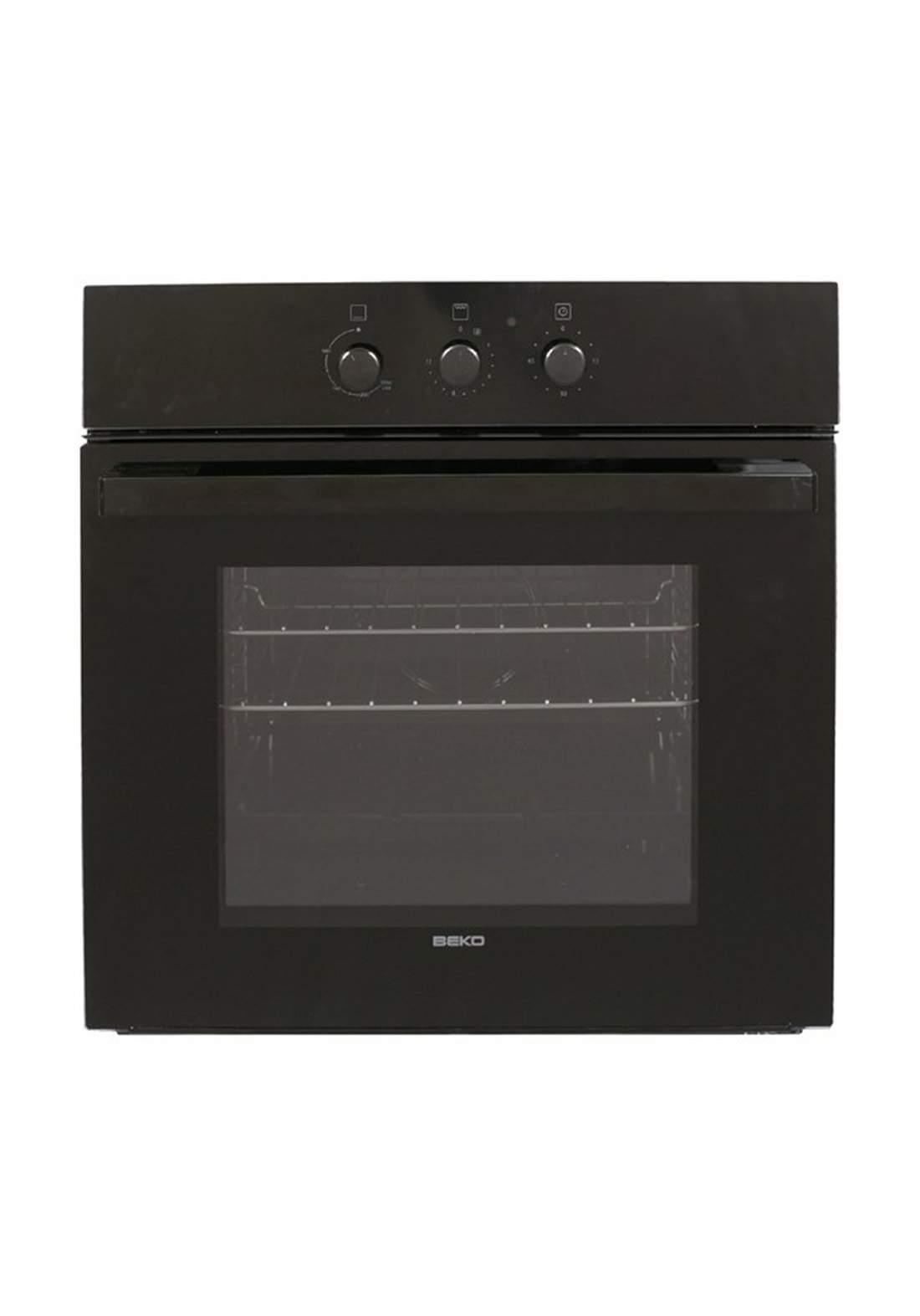 Beko Gas oven OIG 14101 B - Black فرن