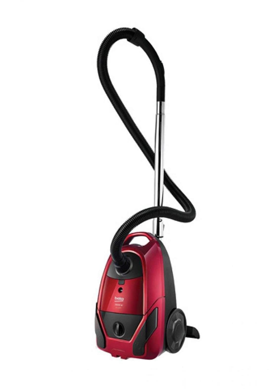 Beko (  BKS 2226) Vacuum Cleaner Wet and Dry 2600  Watts  - Red  مكنسة كهربائية