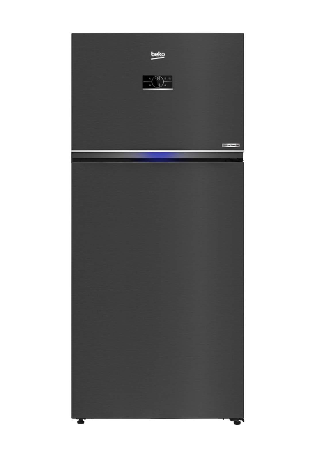 Beko RDNE 700E40 XBR Refrigerator 650 Liter - Black