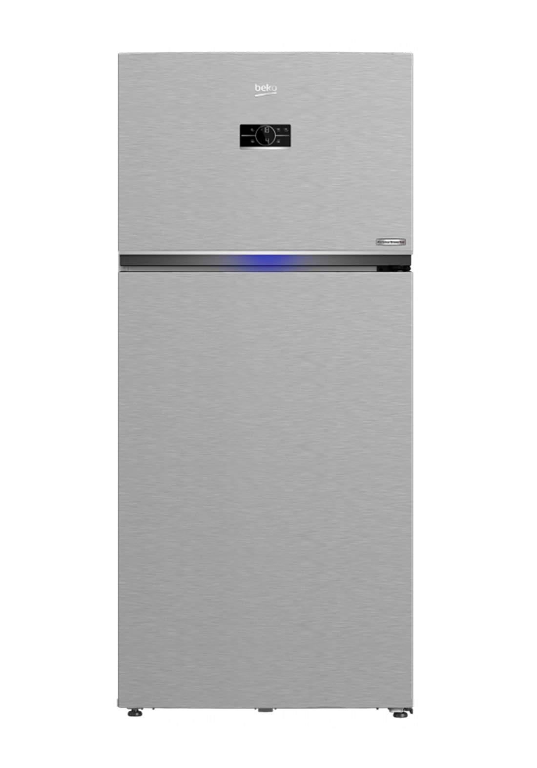 Beko RDNE 700E40 XP  Refrigerator 650 Liter - Gray