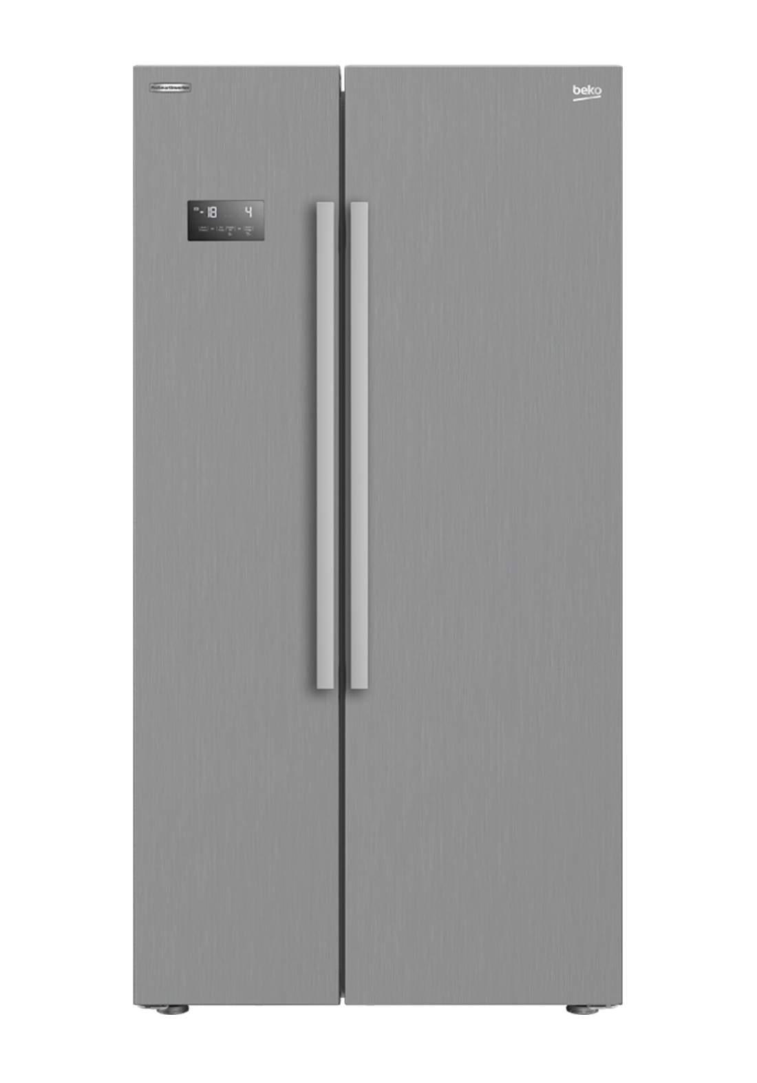 Beko  GN 164021 XB Refrigerator 640 L - Gray ثلاجة