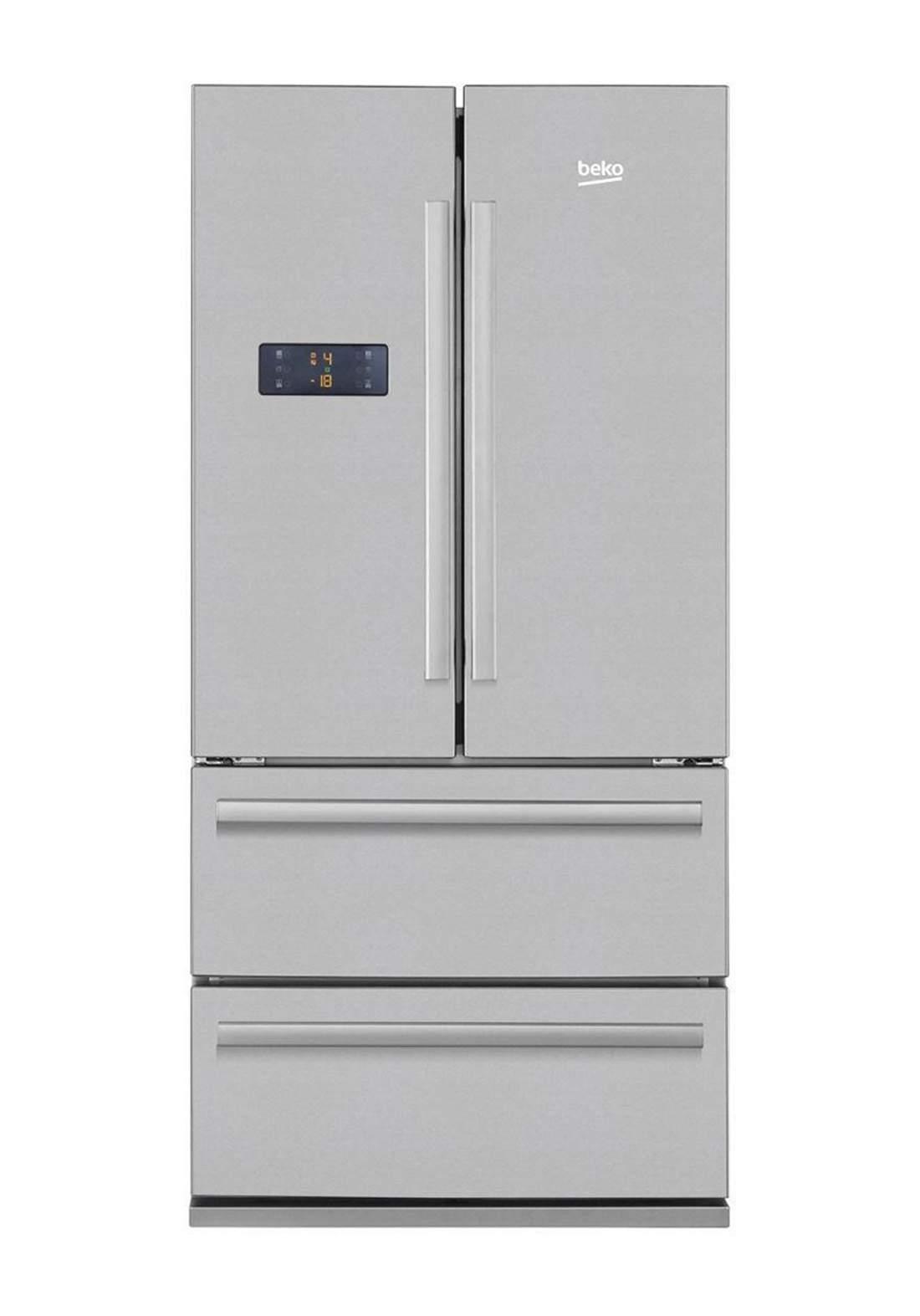 Beko GNE 60500 X Refrigerator 605 L - Gray