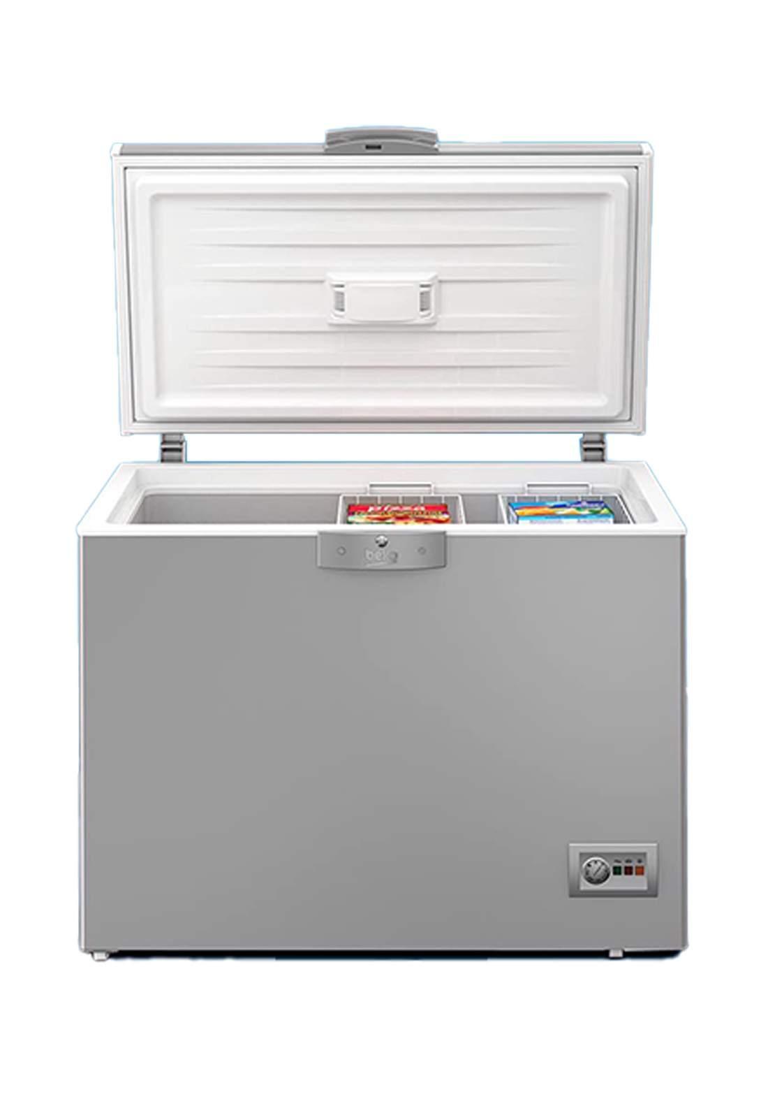 Beko HS32S Chest Freezer 14Ft - Silver