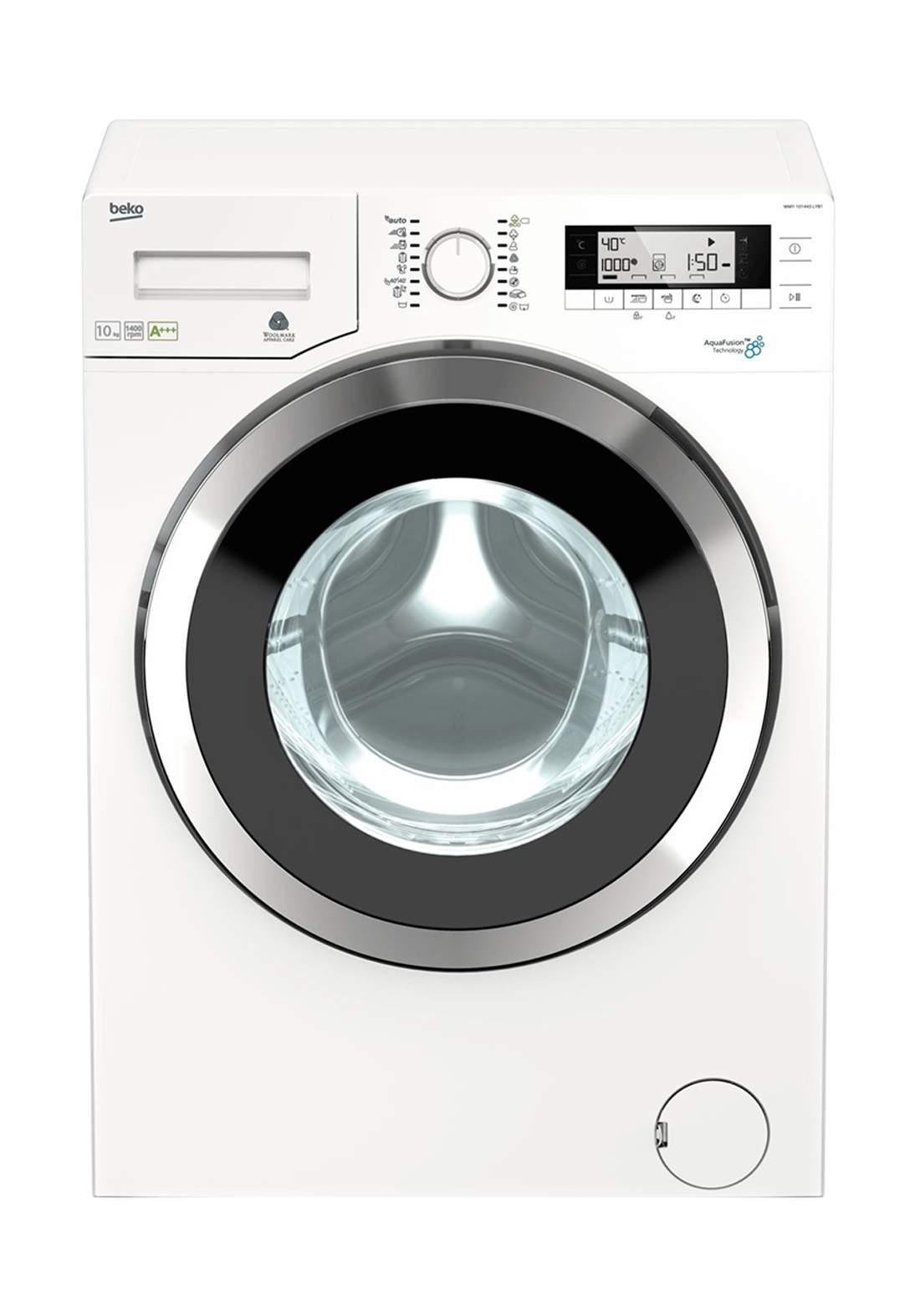 Beko  WMY 101444 LB1 Freestanding Washing Machine 10 kg - White غسالة أوتماتيك