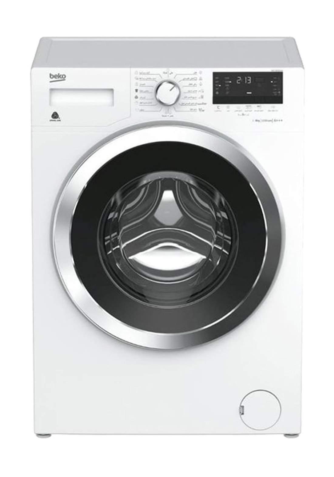 Beko WCC8632XW  1200RPM Front Loading Washing Machine 8Kg - White