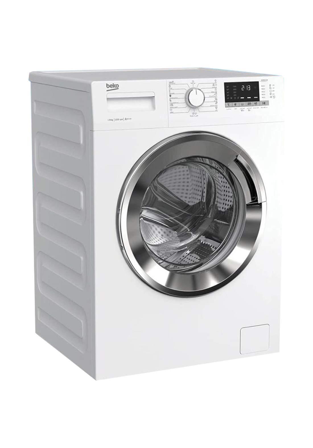 Beko WCC 8612XW  1200RPM Front Loading Washing Machine 12Kg - White